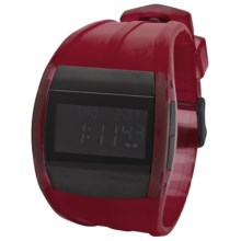 Vestal Crusader Watch in Red/Gunmetal - Closeouts