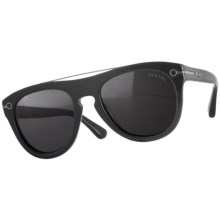 Vestal De Luna Sunglasses in Matte Black/Grey - Closeouts