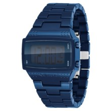 Vestal Dolby Plastic Watch in Navy/Polished - Closeouts
