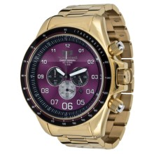 Vestal ZR-3 Watch - Stainless Steel Case and Bracelet in Gold/Gold/Purple - Closeouts