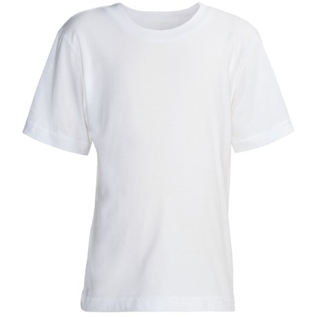 Vibrations Cotton T-Shirts - 2-Pack, Short Sleeve (For Boys) in White