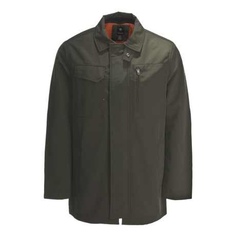 Victorinox Fleece-Lined Jacket (For Men) in Ashphalt Grey