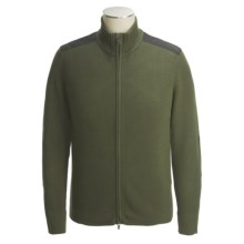 Victorinox Mahale Cardigan Sweater - Full Zip (For Men) in Lancaster Olive - Closeouts