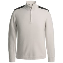 Victorinox Mahale Sweater - Zip Neck (For Men) in Vapor White - Closeouts