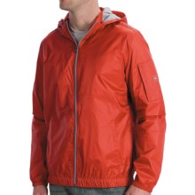 Victorinox Ripstop Hooded Jacket (For Men) in Sonic Red - Closeouts