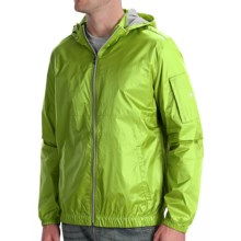 Victorinox Ripstop Hooded Jacket (For Men) in Turf Green - Closeouts