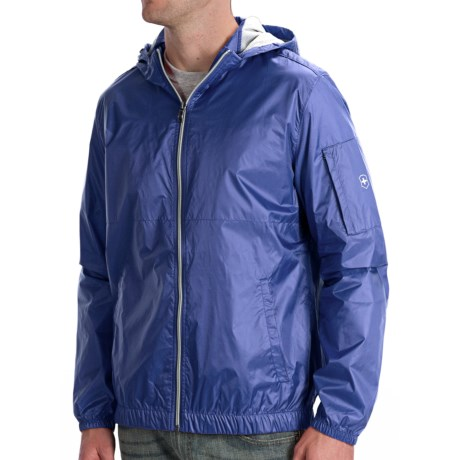 Victorinox Ripstop Hooded Jacket (For Men) in Sonic Red