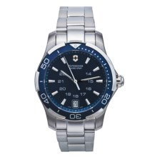 Victorinox Swiss Army Alliance Sport Watch (For Men and Women) in Blue/Stainless Steel - Closeouts