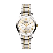 Victorinox Swiss Army Alliance Watch (For Women) in White/Silver&Gold - Closeouts
