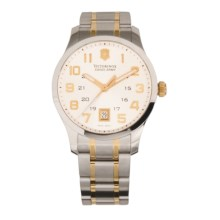 Victorinox Swiss Army Alliance Watch - Two-Tone Gold in Silver/Stainless Steel - Closeouts
