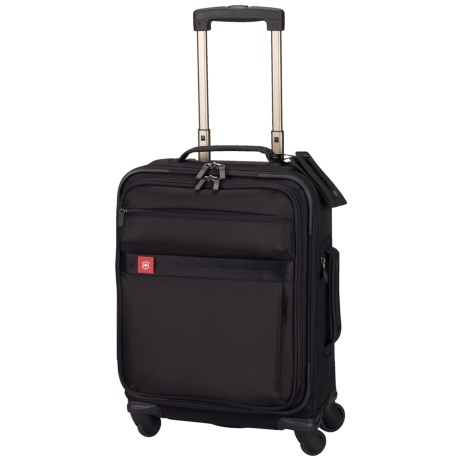 "Victorinox Swiss Army Avolve Carry-On Luggage - Spinner, Expandable, 20"" in Black"