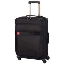 "Victorinox Swiss Army Avolve Spinner Luggage - Expandable, 26"" in Black"