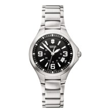 Victorinox Swiss Army Basecamp Watch in Black/Stainless Steel - Closeouts
