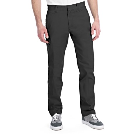 Victorinox Swiss Army Brushed Comfort Stretch Cargo Pants (For Men) in Black