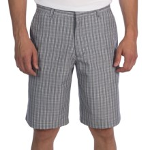 Victorinox Swiss Army Carson Plaid Shorts (For Men) in Coast Grey - Closeouts