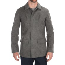 Victorinox Swiss Army High-Performance Wool Parka (For Men) in Grey Heather - Closeouts