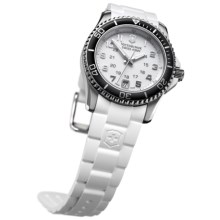 Victorinox Swiss Army Maverick GS Watch (For Women) in White/White - Closeouts
