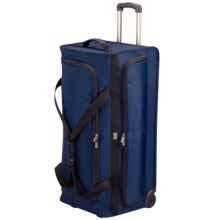Victorinox Swiss Army Mobilizer NXT 5.0 Collapsible Rolling Duffel Bag - X-Large in Navy - Closeouts