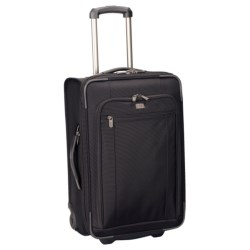 """Victorinox Swiss Army Mobilizer NXT 5.0 Expandable Rolling Suitcase - 22"""", Carry-On in Black"""