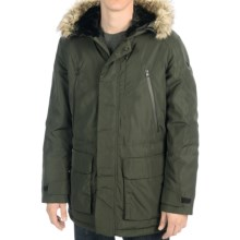 Victorinox Swiss Army Montreux Parka - Insulated, Removable Faux-Fur Trim in Olive - Closeouts