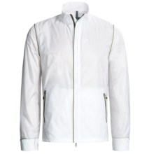 Victorinox Swiss Army Packable Jacket - Ripstop Nylon (For Men) in Classic White/Sahara Khaki - Closeouts