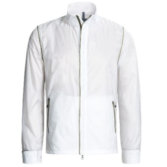 Victorinox Swiss Army Packable Jacket - Ripstop Nylon (For Men) in Classic White/Sahara Khaki