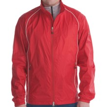 Victorinox Swiss Army Packable Jacket - Ripstop Nylon (For Men) in Ribbon Red/White - Closeouts