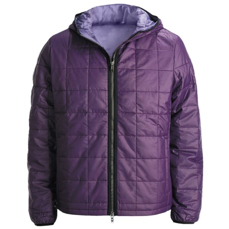 Victorinox Swiss Army Quilted Jacket - Insulated (For Men) in Black Iris