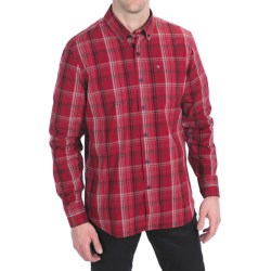 Victorinox Swiss Army Sellen Ombre Plaid Shirt - Long Sleeve (For Men) in Victorinox Red