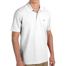 Victorinox Swiss Army Strauss Polo Shirt - Short Sleeve (For Men) in Classic White - Closeouts