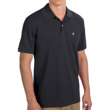Victorinox Swiss Army Strauss Polo Shirt - Short Sleeve (For Men) in Navy - Closeouts
