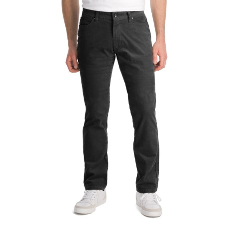 Victorinox Swiss Army Stretch Corduroy Pants (For Men) in Pewter