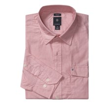 Victorinox Swiss Army Summer Stripe Shirt - Long Sleeve (For Men) in Tournament Pink - Closeouts