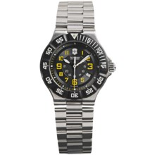 Victorinox Swiss Army Summit XLT Watch - Stainless Steel Bracelet (For Women) in Cool Grey/Silver - Closeouts
