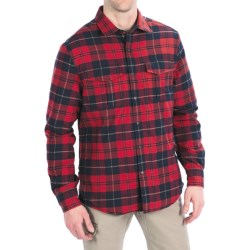 Victorinox Swiss Army Thorton Tartan Overshirt - Long Sleeve (For Men) in Navy