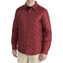 Victorinox Swiss Army Valias Shirt Jacket - Lightweight, Insulated (For Men) in Dark Victorinox Red - Closeouts