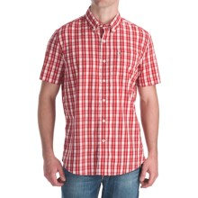 Victorinox Swiss Army Vilamont Check Shirt - Short Sleeve (For Men) in Victorinox Red - Closeouts