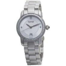 Victorinox Swiss Army Vivante Watch - Diamond Bezel, Round (For Women) in Silver/Stainless Steel - Closeouts