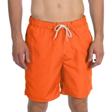 Victorinox Swiss Army Wave Swim Trunks (For Men) in Bright Orange - Closeouts
