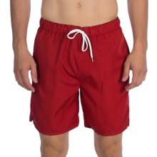 Victorinox Swiss Army Wave Swim Trunks (For Men) in Ibach Red - Closeouts