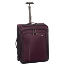 "Victorinox Swiss Army Werks Traveler 4.0 Expandable Wheeled Carry-On Suitcase - 20"" in Purple/Black - Closeouts"