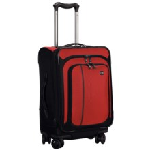"Victorinox Swiss Army Werks Traveler 4.0 Suitcase - 20"" Dual Caster in Red - Closeouts"