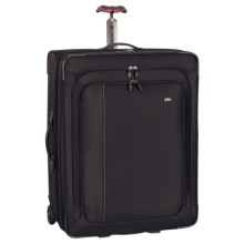 """Victorinox Swiss Army Werks Traveler 4.0 Suitcase - 20"""" Wheeled Carry-On in Black - Closeouts"""