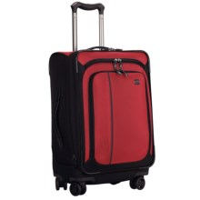 "Victorinox Swiss Army Werks Traveler 4.0 Suitcase - 22"" Dual Caster in Red - Closeouts"