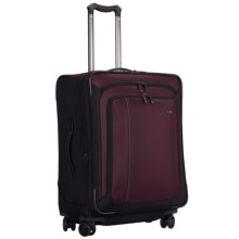 """Victorinox Swiss Army Werks Traveler 4.0 Suitcase - 24"""" Dual Caster in Purple - Closeouts"""