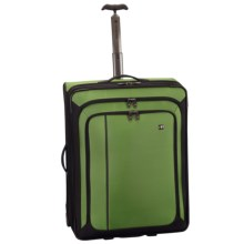 """Victorinox Swiss Army Werks Traveler 4.0 Suitcase - 27"""" Dual Caster in Emerald - Closeouts"""