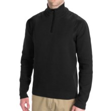Victorinox Traveler Sweater - Zip Neck (For Men) in Black - Closeouts