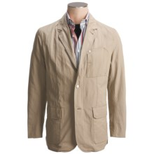 Victorinox Utility Travel Blazer - Canvas (For Men) in Mineral Khaki - Closeouts