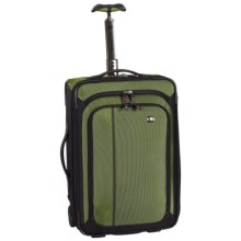 "Victorinox Werks Traveler 4.0 Upright 20"" Carry-On Suitcase - Rolling in Emerald/Black - Closeouts"