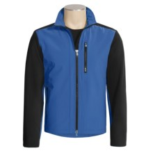 Victorinox Windproof Soft Shell Jacket (For Men) in Title Blue - Closeouts